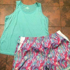 Pants - NWT outfit size 2x shorts & tank